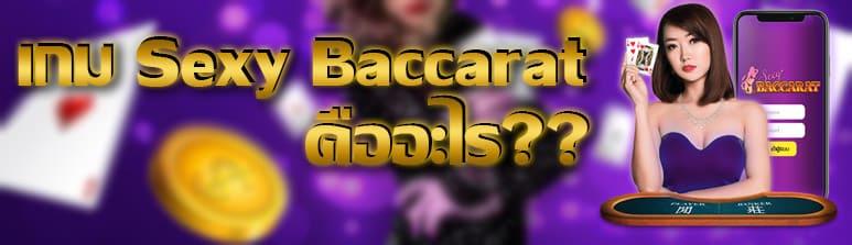 เกม Sexy Baccarat